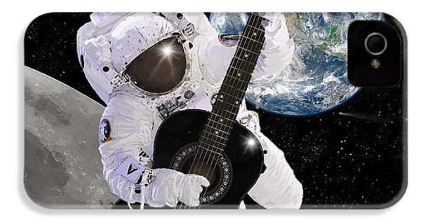 Ground Control To Major Tom IPhone 4s Case by Nikki Marie Smith