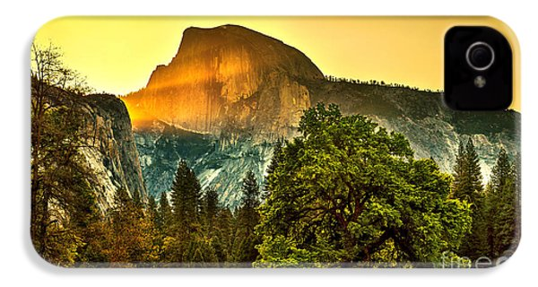 Half Dome Sunrise IPhone 4s Case by Az Jackson