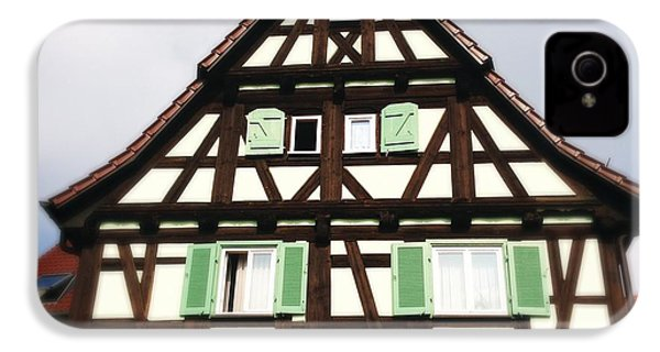 Half-timbered House 01 IPhone 4s Case