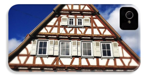 Half-timbered House 03 IPhone 4s Case