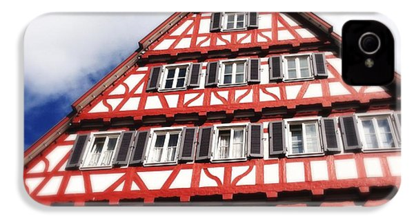 Half-timbered House 06 IPhone 4s Case