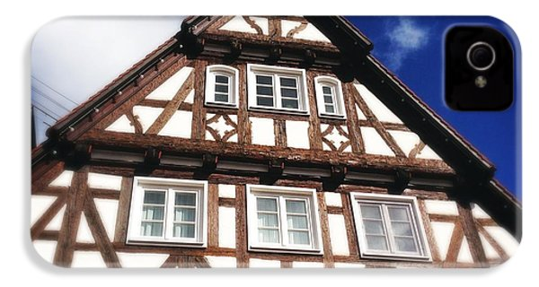 Half-timbered House 08 IPhone 4s Case