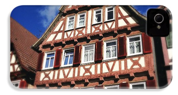 Half-timbered House 10 IPhone 4s Case