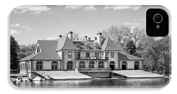 Weld Boat House At Harvard University IPhone 4s Case by University Icons