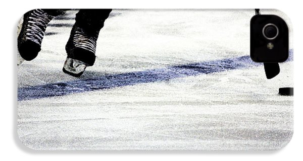 He Skates IPhone 4s Case by Karol Livote