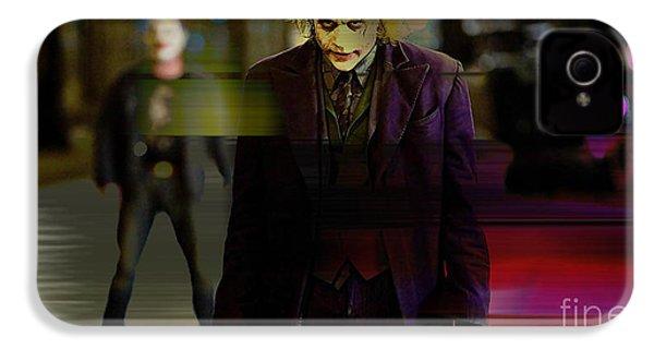 Heath Ledger IPhone 4s Case by Marvin Blaine