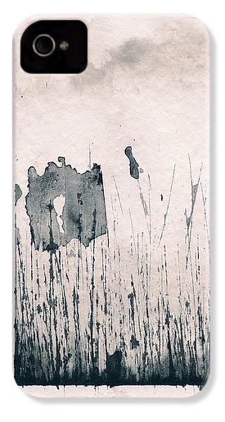 IPhone 4s Case featuring the painting Herbes Souillees by Marc Philippe Joly