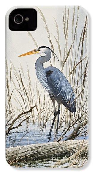 Herons Natural World IPhone 4s Case by James Williamson