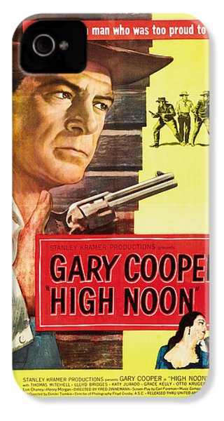 High Noon - 1952 IPhone 4s Case by Georgia Fowler
