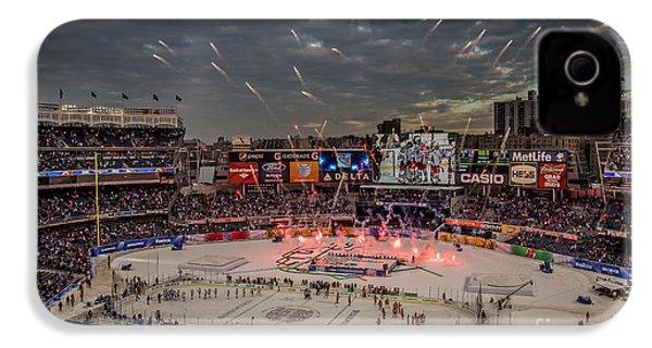 Hockey At Yankee Stadium IPhone 4s Case