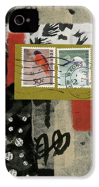 Hong Kong Postage Collage IPhone 4s Case