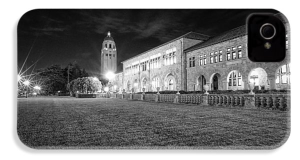 Hoover Tower Stanford University Monochrome IPhone 4s Case by Scott McGuire