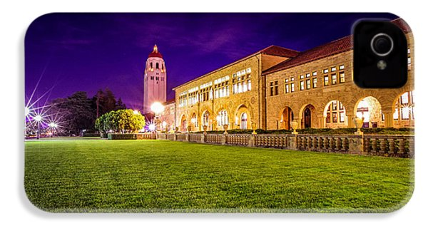 Hoover Tower Stanford University IPhone 4s Case by Scott McGuire