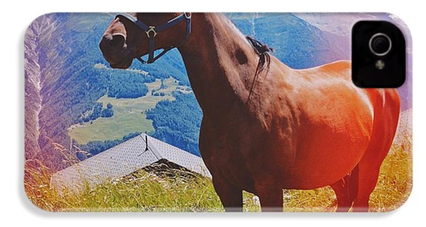 Horse In The Alps IPhone 4s Case