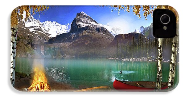 I Stillness I Heal IPhone 4s Case by David M ( Maclean )