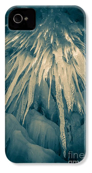 Ice Cave IPhone 4s Case by Edward Fielding