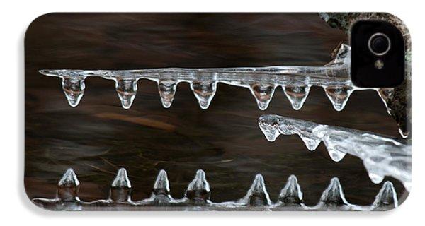 Ice Crocodiles IPhone 4s Case by Lara Ellis
