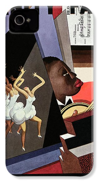 Illustration Of Harlem Entertainers IPhone 4s Case by William Bolin