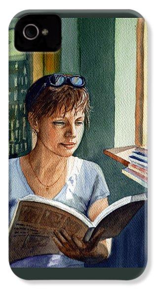 In The Book Store IPhone 4s Case by Irina Sztukowski