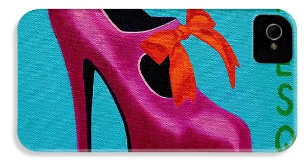 Irish Burlesque Shoe    IPhone 4s Case by John  Nolan