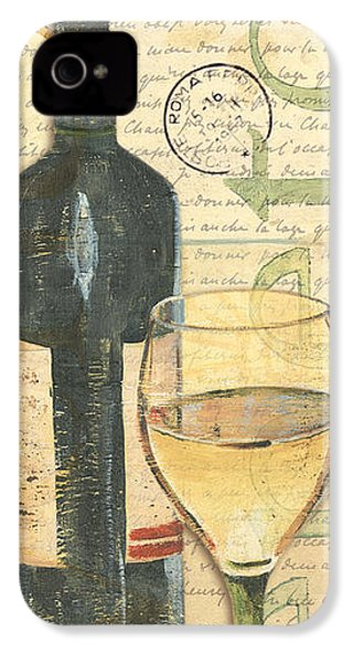 Italian Wine And Grapes 1 IPhone 4s Case by Debbie DeWitt