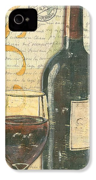 Italian Wine And Grapes IPhone 4s Case by Debbie DeWitt