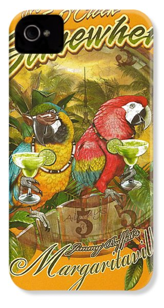It's 5 O'clock Somewhere IPhone 4s Case by Desiderata Gallery