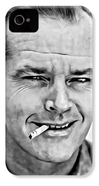 Jack Nicholson IPhone 4s Case by Florian Rodarte