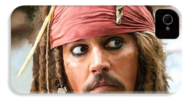 Jack Sparrow IPhone 4s Case