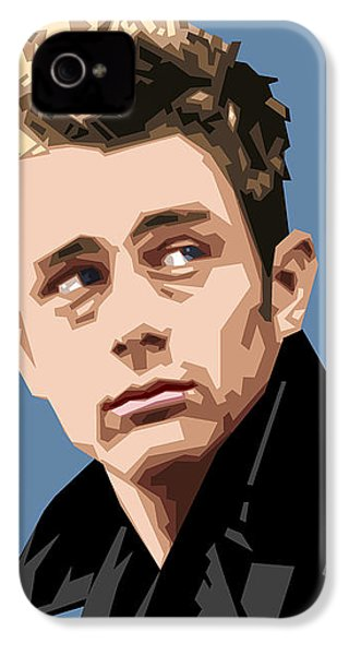 James Dean In Color IPhone 4s Case by Douglas Simonson
