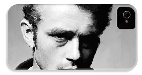 James Dean - Portrait IPhone 4s Case by Paul Tagliamonte
