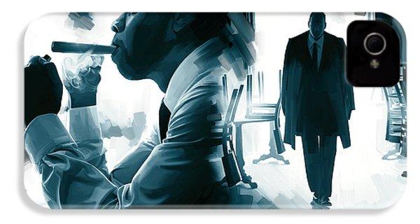 Jay-z Artwork 3 IPhone 4s Case by Sheraz A