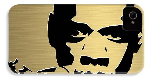 Jay Z Gold Series IPhone 4s Case by Marvin Blaine