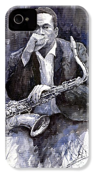 Jazz Saxophonist John Coltrane Black IPhone 4s Case