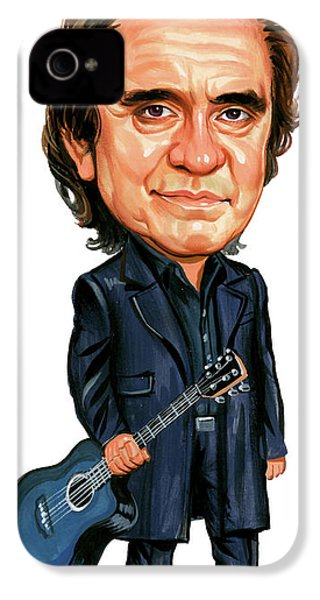 Johnny Cash IPhone 4s Case by Art