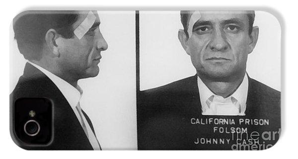 Johnny Cash Folsom Prison Large Canvas Art, Canvas Print, Large Art, Large Wall Decor, Home Decor IPhone 4s Case