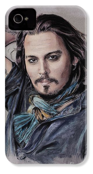 Johnny Depp IPhone 4s Case