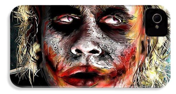 Joker Painting IPhone 4s Case by Daniel Janda
