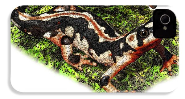 Kaisers Spotted Newt IPhone 4s Case by Roger Hall