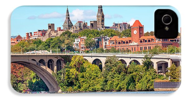Key Bridge, Potomac River, Georgetown IPhone 4s Case