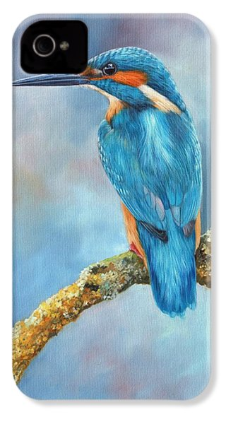 Kingfisher IPhone 4s Case by David Stribbling