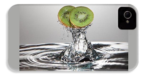 Kiwi Freshsplash IPhone 4s Case by Steve Gadomski