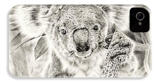 Koala Garage Girl IPhone 4s Case by Remrov