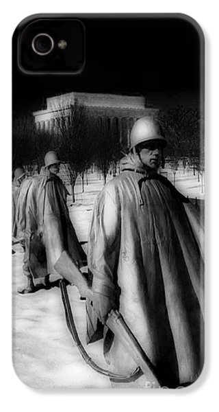 Korean Memorial IPhone 4s Case by Skip Willits