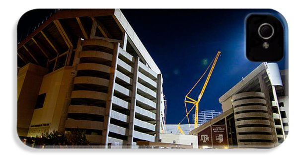Kyle Field Construction IPhone 4s Case by Linda Unger