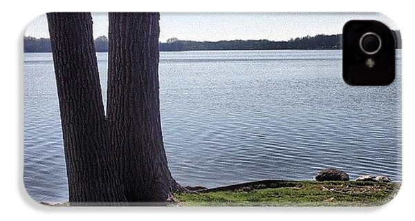 Lake In The Summer IPhone 4s Case by Christy Beckwith
