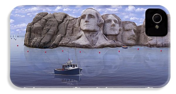 Lake Rushmore IPhone 4s Case by Mike McGlothlen