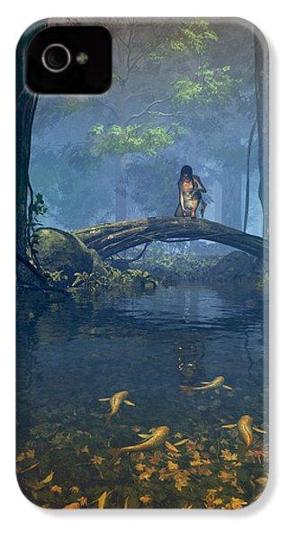 Lantern Bearer IPhone 4s Case by Cynthia Decker