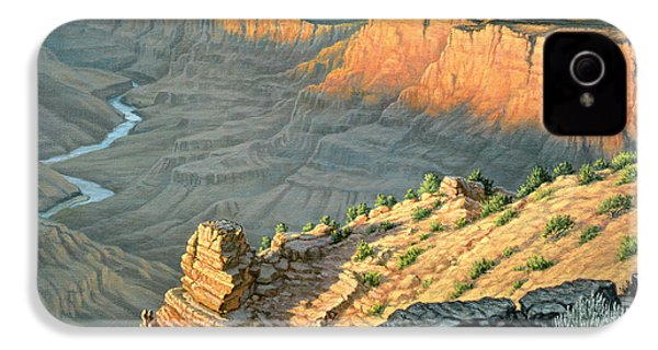 Late Afternoon-desert View IPhone 4s Case by Paul Krapf