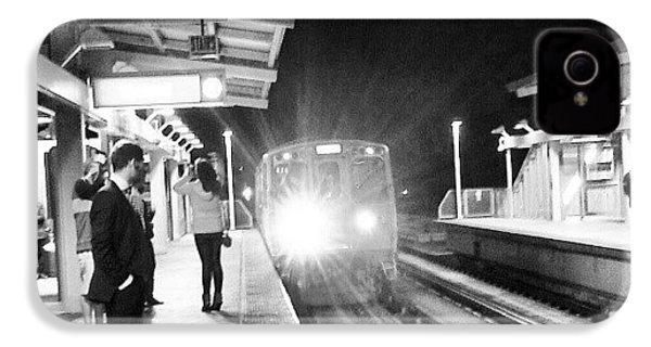 Late Night On The Red Line IPhone 4s Case